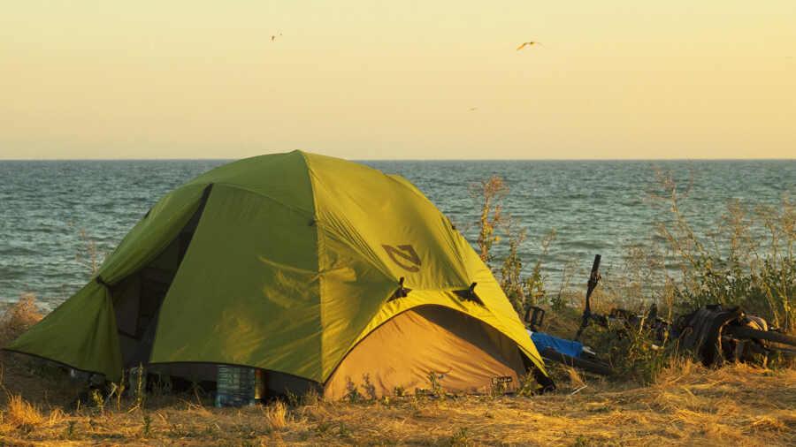 Отдых с палатками в Краснодарском крае