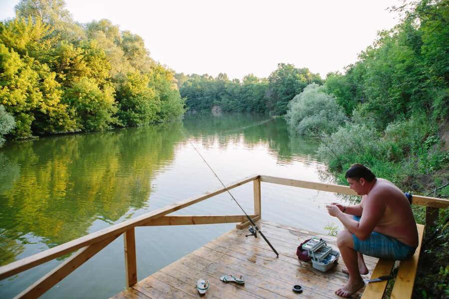 Отдых с рыбалкой в Краснодарском крае