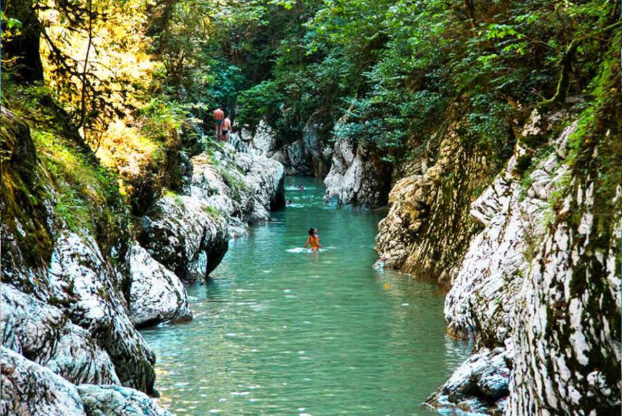 Отдых в Сочи на речке