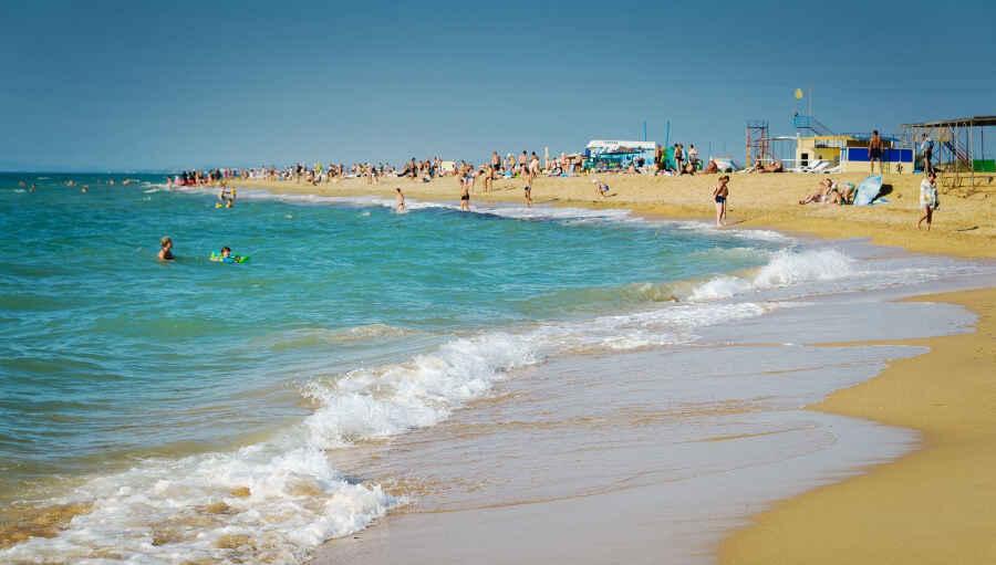 Пляжи для отдыха в Анапе