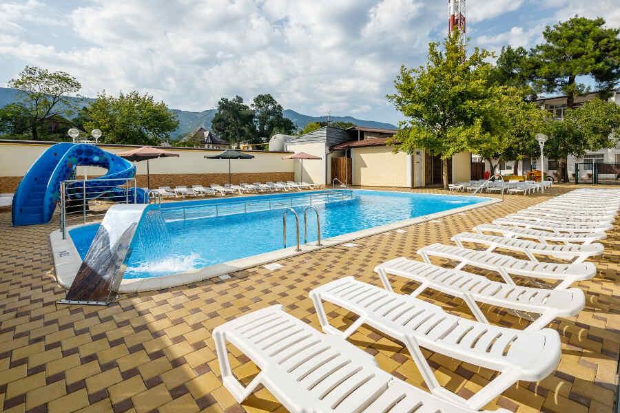 Как провести отдых в Геленджике 2021 с бассейном экономно?