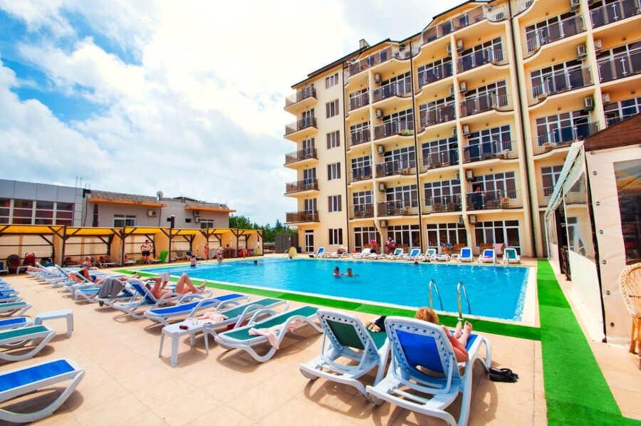 Отели и цены на отдых в Витязево по «все включено»