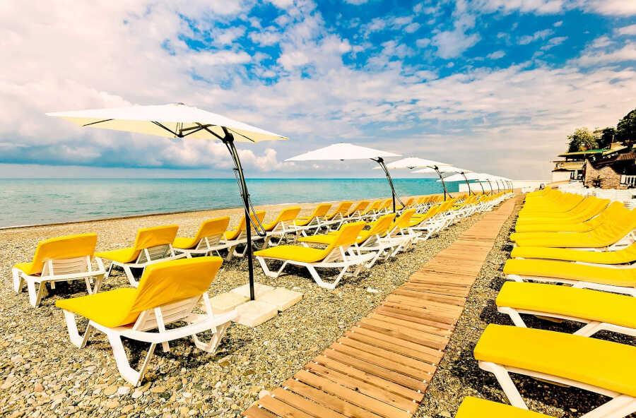 Виды пляжного отдыха в Сочи