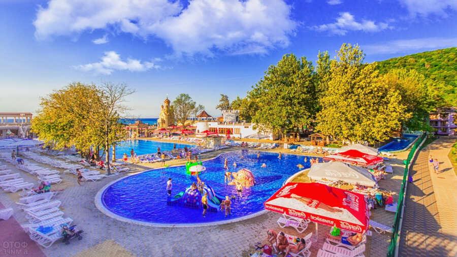 Жилье и развлечения в Архипо-Осиповке на отдыхе с детьми
